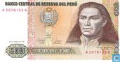 Peru 500 Intis