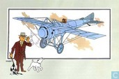 """Strips - Kuifjesbon producten - Chromo's """"Vliegtuigen oorsp. tot 1700"""" 54"""