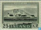 Briefmarken - Island - Bessastadir