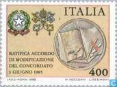 Postage Stamps - Italy [ITA] - Treaty with Vatican
