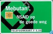Mebutan, NSAID op de goede weg