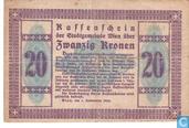 Billets de banque - Wien - Stadtgemeinde - Wien 20 Kronen 1918