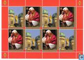 80e anniversaire de naissance le Pape Benedict XVI