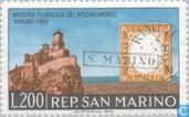 Timbres-poste - Saint-Marin - Association Italie