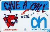 Albert Heijn, Give a call with la vache ..