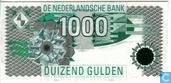 Bankbiljetten - Computer ontwerp - 1000 gulden Nederland 1994
