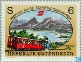 Postzegels - Oostenrijk [AUT] - 100 jaar Schafbergbahn