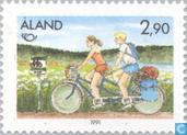 Postage Stamps - Åland Islands [ALA] - Norden-Tourism