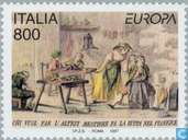 Postage Stamps - Italy [ITA] - Europe – Tales and legends