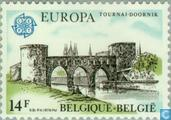 Timbres-poste - Belgique [BEL] - Europe – Monuments