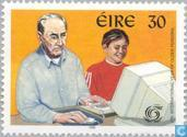 Postage Stamps - Ireland - International year of older persons