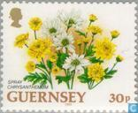 Postage Stamps - Guernsey - Flowers