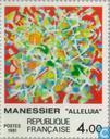 Postage Stamps - France [FRA] - Painting Alfred Manessier