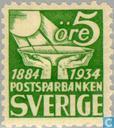 Suédois Caisse d'épargne postale