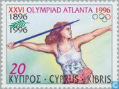 Postage Stamps - Cyprus [CYP] - Olympic Games- Atlanta