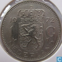Coins - the Netherlands - Netherlands 1 gulden 1972