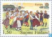 Postage Stamps - Finland - Europe – Folklore