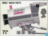 Postage Stamps - Great Britain [GBR] - TV camera