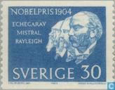 Postzegels - Zweden [SWE] - Nobelprijs winnaars 1904