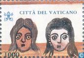 Postage Stamps - Vatican City - Masks