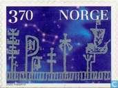 Timbres-poste - Norvège - Noël
