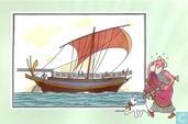 """Comic Books - Kuifjesbon producten - Chromo's """"Zeevaart I"""" 8"""