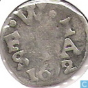 Coins - West Friesland - West-Friesland double weapon penny 1672