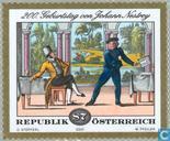 Postzegels - Oostenrijk [AUT] - Johann Nepomuk Nestroy