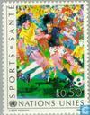 Briefmarken - Vereinte Nationen - Genf - Gesundheit durch Sport