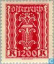 Briefmarken - Österreich [AUT] - Symbolische Darstellungen