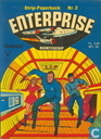Strips - Star Trek - Ruimteschip Enterprise strip-paperback 2