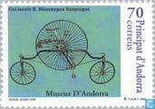 Postage Stamps - Andorra - Spanish - Cycling