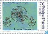 Briefmarken - Andorra - Spanisch - Radfahren