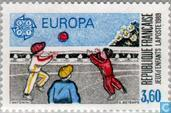 Timbres-poste - France [FRA] - Europe – Jeux d'enfants
