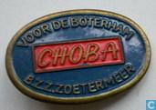 Choba voor de boterham B.Z.Z.Zoetermeer [blauw-rood]