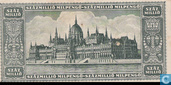 Banknotes - Hungary - 1946 Milpengö Issue - Hungary 100 Million Milpengö 1946