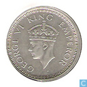 Coins - British East India - British-India 1 Rupee 1944 (Bombay)