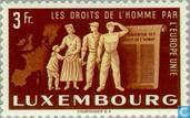 Timbres-poste - Luxembourg - Vereningd Europe
