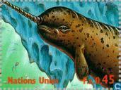 Postzegels - Verenigde Naties - Genève - Int. Jaar Oceaan