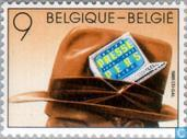 Postage Stamps - Belgium [BEL] - Association of professional journalists