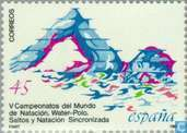 Postage Stamps - Spain [ESP] - Swimming world championships