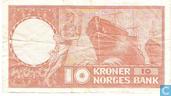 Bankbiljetten - Noorwegen - 1948-1976 Issue - Noorwegen 10 Kroner 1969