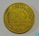 Monnaies - France - France 20 centimes 1967