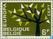 Postzegels - België [BEL] - Europa – Boom met 19 bladeren