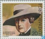 Postage Stamps - Luxembourg - Aline Mayrisch de Saint-Hubert