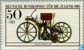 Postage Stamps - Germany, Federal Republic [DEU] - Motorcycles