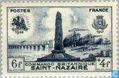 Postage Stamps - France [FRA] - British landing Saint-Nazaire 5 years