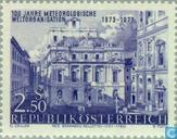 Postzegels - Oostenrijk [AUT] - Internationale meteorologische samenwerking 100 jaar