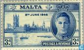 Postage Stamps - Malta - liberation