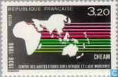 Postage Stamps - France [FRA] - Institute for African and Asian Studies